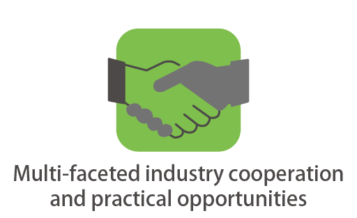 Multi-faceted industry cooperation and practical opportunities
